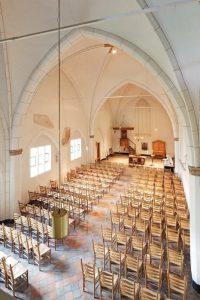 Oude interieur Gasthuiskerk